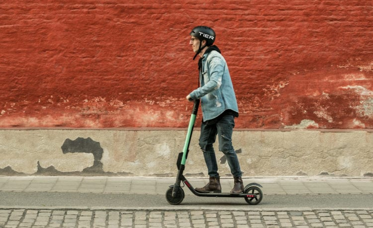 Tier Mobility ist ein deutsches E-Scooter-Start-up. Foto: Tier Mobility