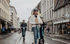 Das E-Scooter-Start-up Tier Mobility kommt aus Berlin. Foto: Tier Mobility