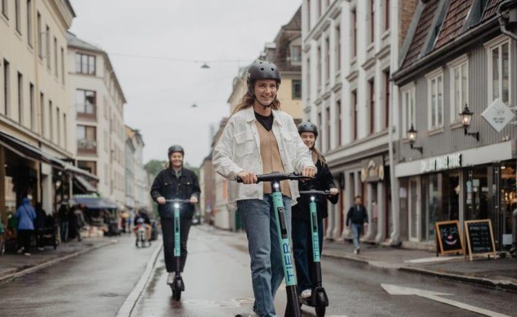 Das E-Scooter-Start-up Tier Mobility kommt aus Berlin. Foto: Tier Mobility