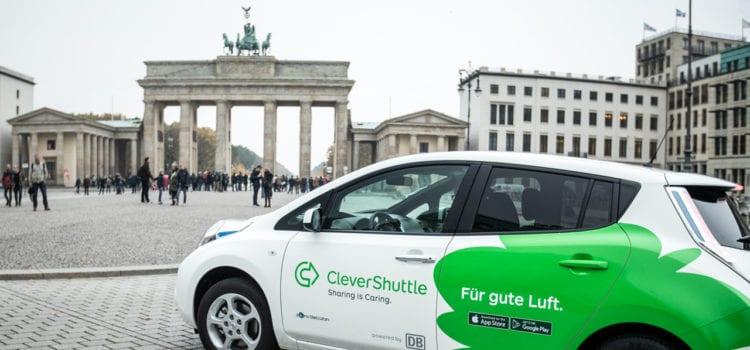 CleverShuttle hat in Berlin seine Betriebszeiten ausgeweitet. Foto: CleverShuttle