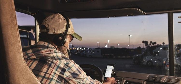 Uber Freight verbindet Logistikunternehmen mit Spediteuren per App. Foto: Uber
