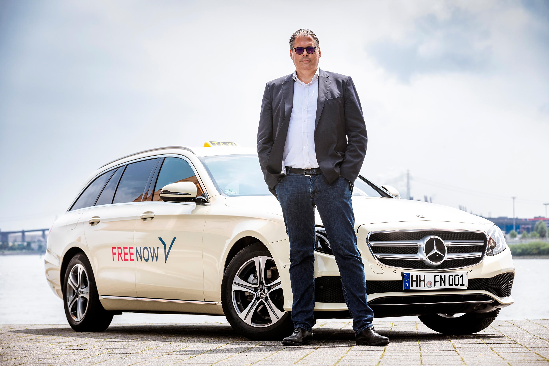 Alexander Mönch, Deutschland-Chef von Free Now. Foto: Free Now