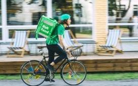 Uber-Konkurrent Bolt aus Estland liefert nun auch Essen aus. Foto: Bolt / Jake Farra