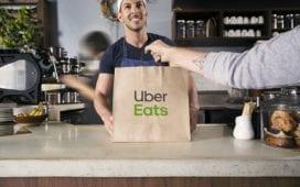 Uber Eats liefert bereits aus Restaurants. Kommt nun die Lieferung aus dem Supermarkt? Foto: Uber