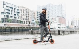 Circ, ehemals Flash, ist ein E-Scooter-Start-up aus Berlin. Foto: Circ