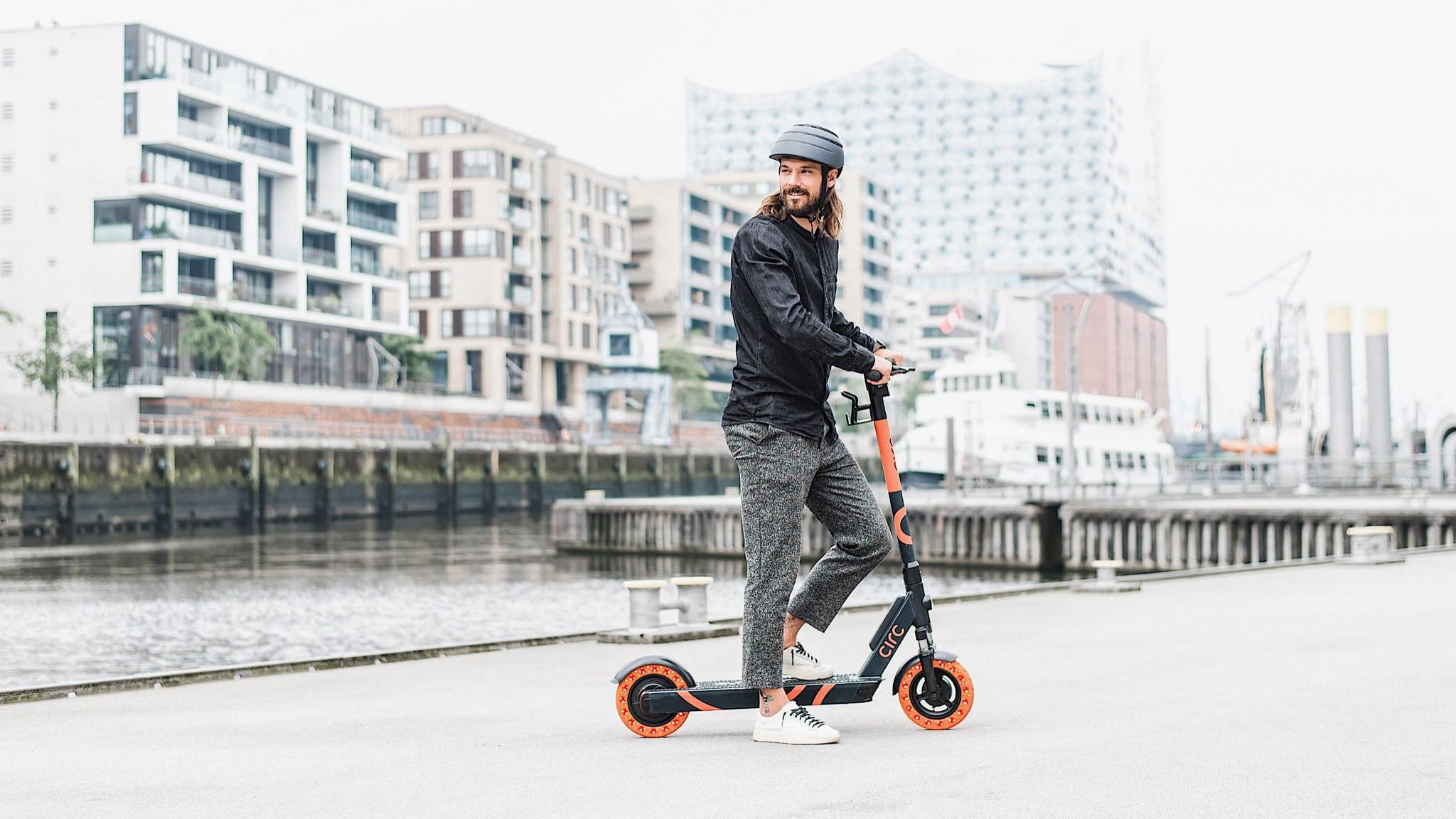 Circ, ehemals Flash, ist ein E-Scooter-Start-up aus Berlin. Foto: Circ