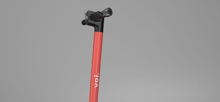 Der E-Scooter Voiager 2 von Voi. Foto: Voi