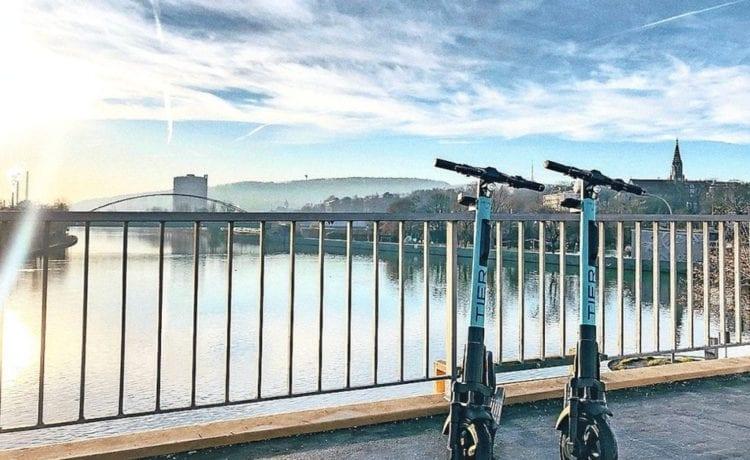 Tier hat seine E-Scooter nun auch in Stuttgart aufgestellt. Foto: Tier Mobility