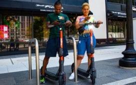 Die E-Scooter von Spin starten nun auch in Deutschland. Foto: Spin