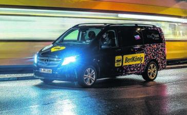 Der Berlkönig der BVG. Foto: Daimler AG