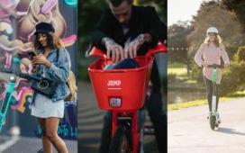Wie gehen die Anbieter von E-Scootern mit der Corona-Pandemie um? Credit: Tier, Lime, Jump