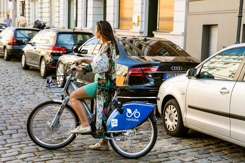 Seit Anfang April kooperiert Mainova mit Nextbike. Credit: Nextbike