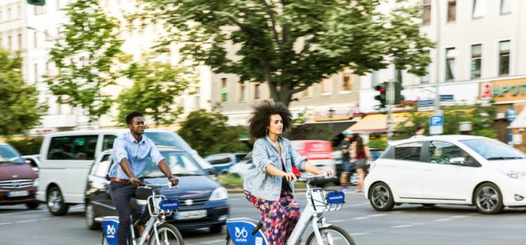 Die wupsiRäder werden über die Systeme von Nextbike betrieben. Credit: Nextbike