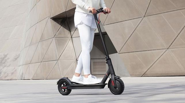 Das Modell 1S soll bis zu 30 km/h schnell fahren. Credit: Xiaomi