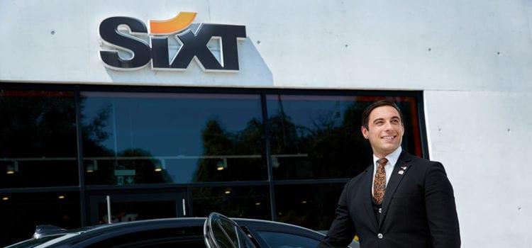 Sixt hat auch Limousinen samt Fahrer angeboten. Foto: Sixt