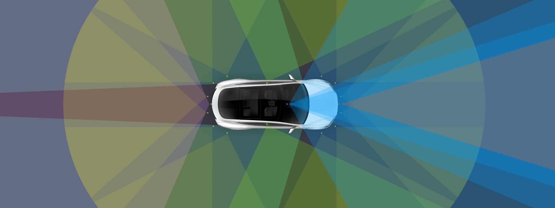 Tesla arbeitet an autonom fahrenden Autos. Foto: Tesla