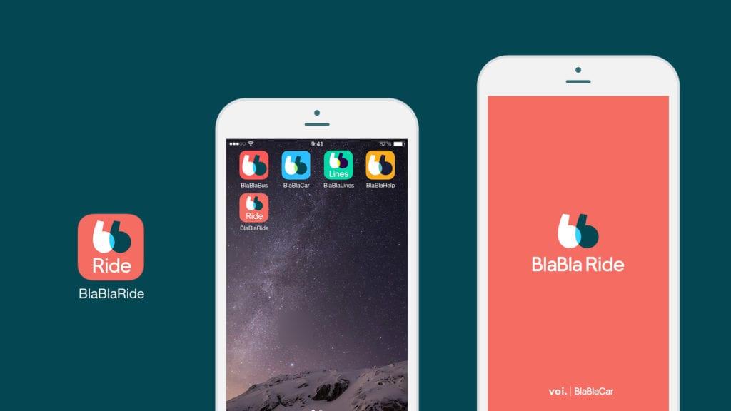 Die App von Voi wird umbenannt. Der Umgang damit soll für die Nutzer aber unverändert bleiben. Credit: BlaBla Car