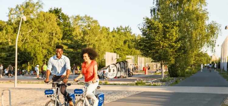 Die Stadt Landau erweitert ihr Mobilitätsangebot. Credit: Nextbike