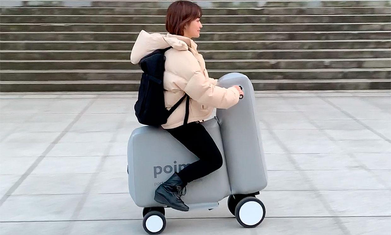 Poimo kann einfach als Rucksack getragen werden. Credit: University of Tokio