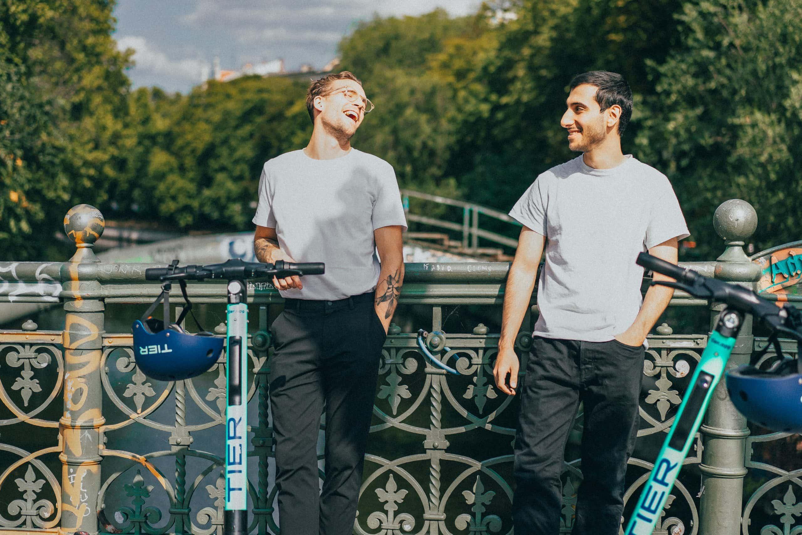 Das E-Scooter-Start-up Tier kommt aus Berlin. Foto: Tier Mobility