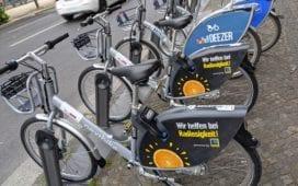Die neuen Leihfahrräder von Edeka Nextbike. Foto: Paul Rost