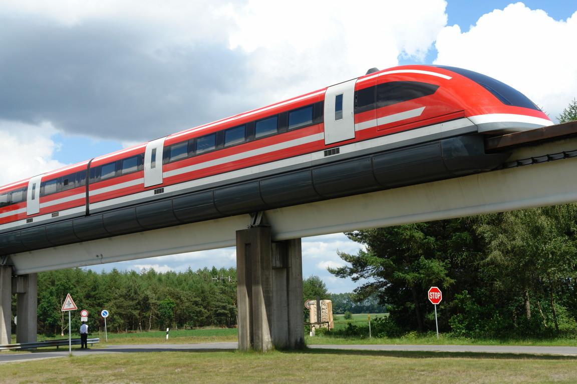 Transrapid-Versuchsstrecke im Emsland. Foto: Állatka (CC)