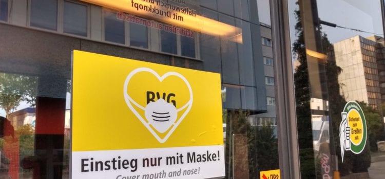 Im ÖPNV gilt deutschlandweit: Maske auf! Credit: Tobias Donald Westphal