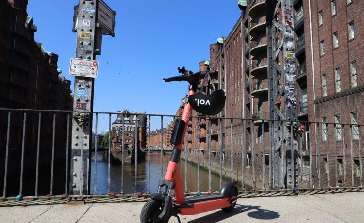 Voi hat eine neue Serie seiner E-Scooter vorgestellt. Credit: Voi