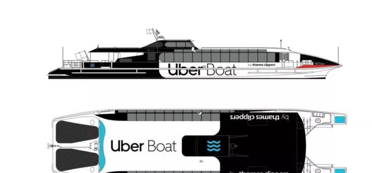 Das neue Projekt Uber Boat. Foto: Uber