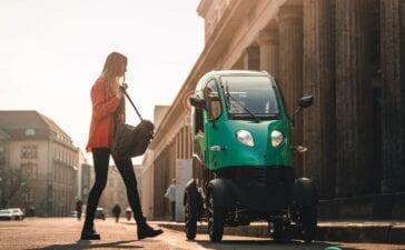 Die E-Pod-Autos von Enuu. Foto: Enuu